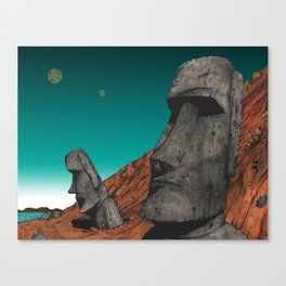 Easter Island 1 Canvas Print