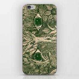 gaia mandala iPhone Skin