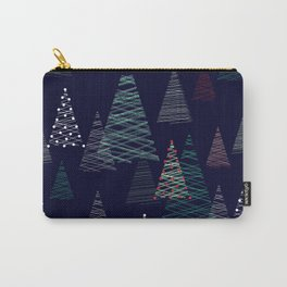 Christmas night, christmas trees Carry-All Pouch