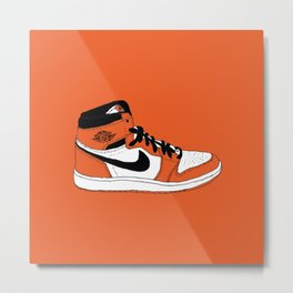 Jordan 1 Shattered Backboard 2.0 Metal Print