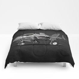 F-35C Lightning II Joint Strike Fighter Cartoon Comforters