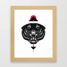 Roar My *--Tiger--* Framed Art Print