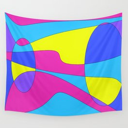 Colors in Sound Neon Wall Tapestry