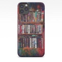 Stephen King Books on Shelves iPhone Case