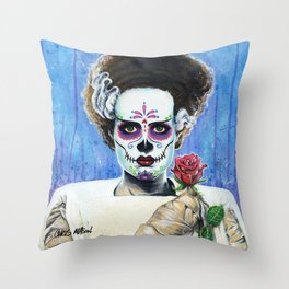 BRIDE OF THE DEAD Throw Pillow