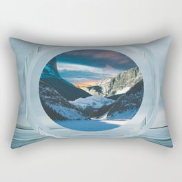 Landscape Collage I Rectangular Pillow