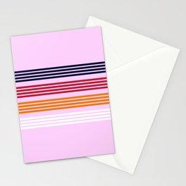Yorinari - Classic Retro Stripes Stationery Cards