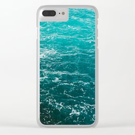 Amalfi Coast Water XIII Clear iPhone Case