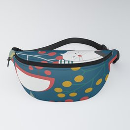 The red-nosed kitty Fanny Pack