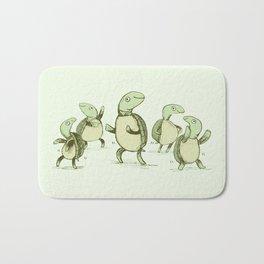 Dancing Turtles Bath Mat