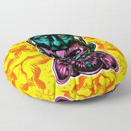 Face helmet Color Floor Pillow