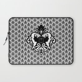 Detective's Damask Laptop Sleeve