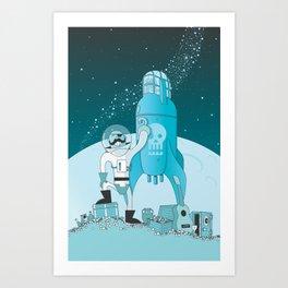 Space Pirate! Art Print