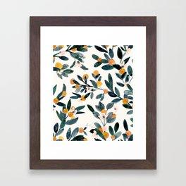 Clementine Sprigs Framed Art Print