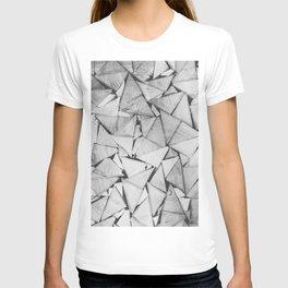Wooden triangular bars T-shirt