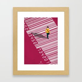 Urban Consumers Framed Art Print