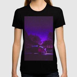 Cyberpunk Street Car T-shirt