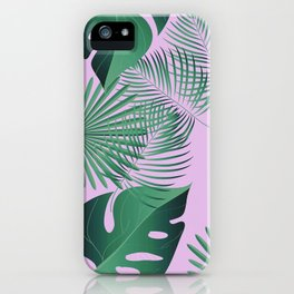 Leafage #08 iPhone Case