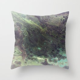 Squid Ink Throw Pillow