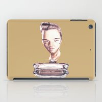 elvis presley iPad Cases featuring Elvis Presley by Diego Abelenda