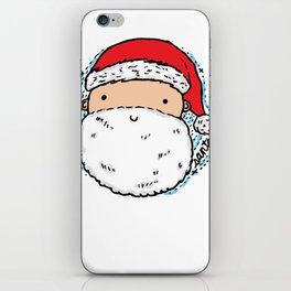 Cute Santa iPhone Skin