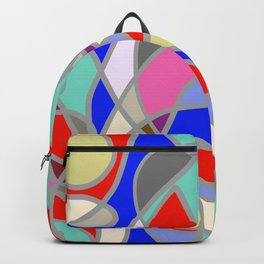 Stain Glass Abstract Meditation Painting 1 Backpack