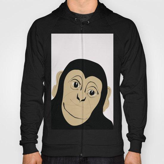 Monkey Illustration  Hoody