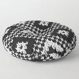 Winterzeit Floor Pillow