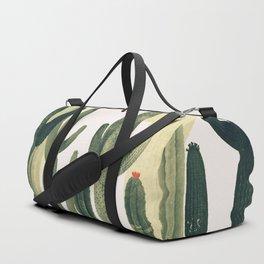 Green Cactus 4 Duffle Bag