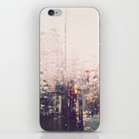 dc iPhone & iPod Skins featuring DC Rain by elle moss