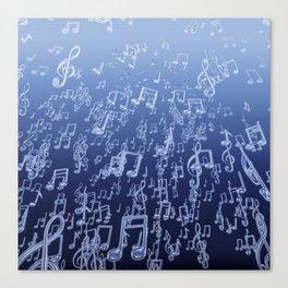 Aquatic Chords Canvas Print