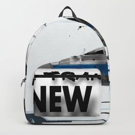 Transit in New york City Backpack