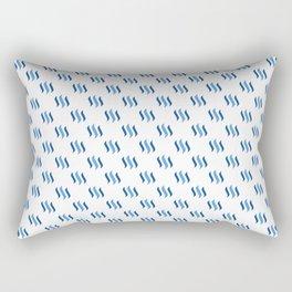 Steem - Crypto Fashion Art (Small) Rectangular Pillow