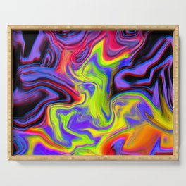 Colour hallucination Serving Tray