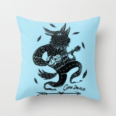 Come Dance Throw Pillow