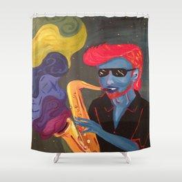 JazzMan Shower Curtain
