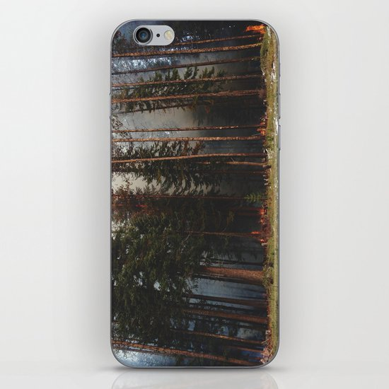 Oregon Forest Control Fire iPhone & iPod Skin