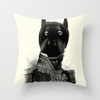 bdsm Throw Pillows featuring BDSM XXXVII by DIVIDUS