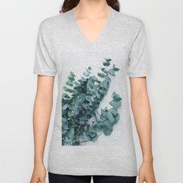 Teal Eucalyptus Unisex V-Neck