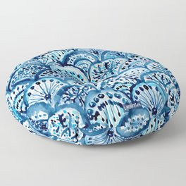 DEEP LIFE Mermaid Scales Floor Pillow