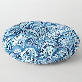 DEEP LIFE Mermaid Scales Floor Pillow