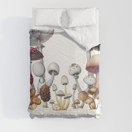 Deadly Mushrooms of North America Comforters