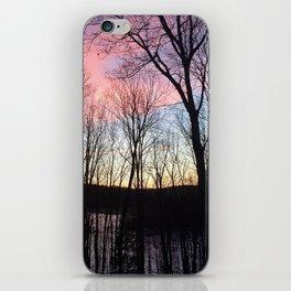 December Dawn Over Eastman Pond iPhone Skin