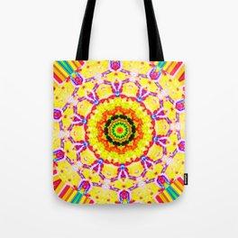 Color Fury Tote Bag