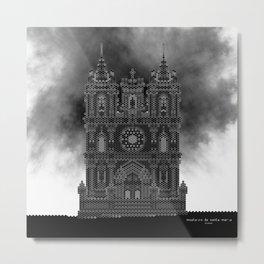 HexArchi - Portugal, Alcobaça, Mosteiro de Santa Maria . Igreja Metal Print