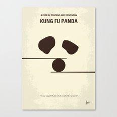 No227 My KUNG FU Panda minimal movie poster Canvas Print