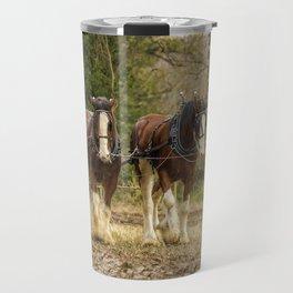 Working Horses 3 Travel Mug