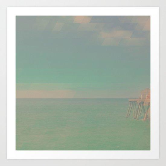 The California Summer Series // Pier Art Print