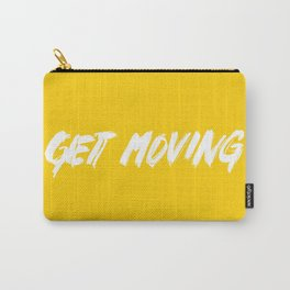 Get Moving! Carry-All Pouch