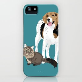 Piper and Jeb iPhone Case